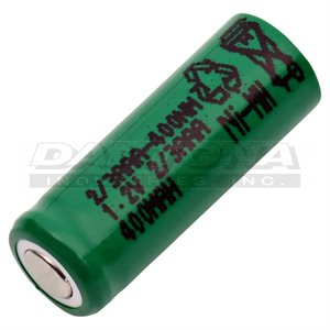 CELLULE 2 / 3AAA 1.55V 400 MAH NIMH FLAT TOP