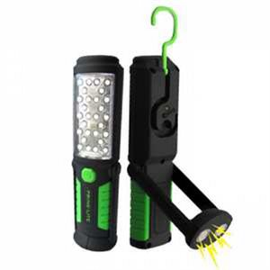 LAMPE DE POCHE DEL RECHARGEABLE BASE MAGNETIC