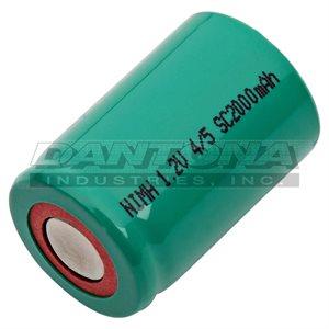 4 / 5 SUB C 1.2V 2000 MAH NIMH