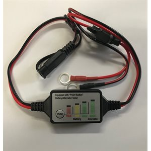 INDICATEUR DE VOLTAGE POUR BATTERIE 12V ET ALTERNATEUR FIXABLE