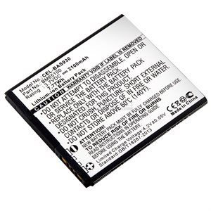 PILE CELL HTC 3.7V 2100MAH LI-ION