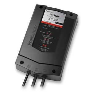 CHARGEUR PROMAR 12 / 24V 5 / 5 AMPS 2 BANQUES