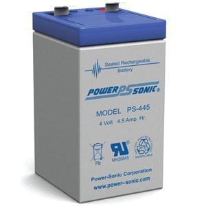 BATTERIE AGM 4V 4.5AH POWER-SONIC