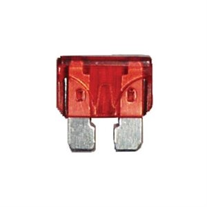 10 AMP STD BLADE FUSES RED