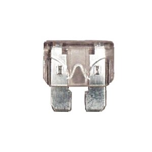 25 AMPS STD. BLADE FUSES , CLEAR