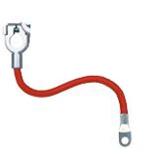 """4 GA 15"""" RED STARTER CABLE"""