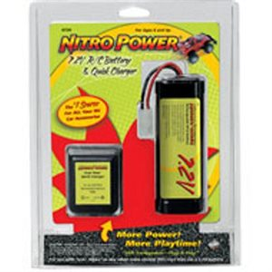 PILE & CHARGEUR RC CAR 7.2 V 1600 MAH NITRO POWER
