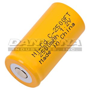 CELLULE 1.2V 2500MAH NICD